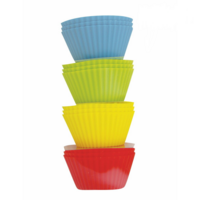 AVANTI SILICONE CUPCAKE CUPS SET OF 12