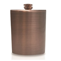 VIN BOUQUET ANTIQUE COPPER FLASK 236ML