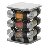 AVANTI REVOLVING HERB AND SPICE RACK SET 12 JARS