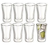 AVANTI UNO TWIN WALL GLASSES 250ml - SET OF 8