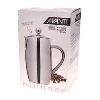 AVANTI DELUXE TWIN WALL 6 CUP COFFEE PLUNGER 800ml