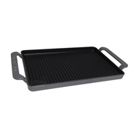 CHASSEUR 42 x 24cm CAST IRON RECTANGULAR GRILL TRAY