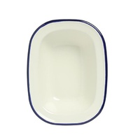 WILTSHIRE ENAMEL PIE DISH 400ml