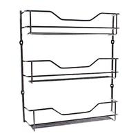 ENTREE CHROME 3 TIER SPICE RACK
