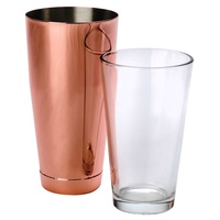 UBER BOSTON SHAKER 800ml COPPER