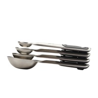OXO GOOD GRIPS 4 PIECE STAINLESS STEEL MEASURING CUP SET