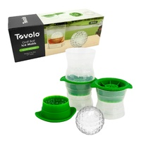 TOVOLO GOLF BALL ICE MOULDS - SET OF 3