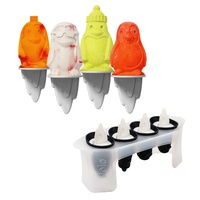TOVOLO PENGUIN ICE POP MOULDS - SET OF 4