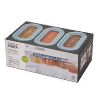 JOSEPH JOSEPH CUPBOARDSTORE 3 PIECE UNDER SHELF CONTAINER SET 900ml