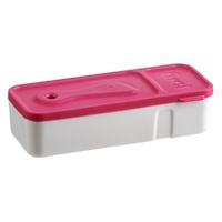 TRUDEAU FUEL SNACK'N DIP FOOD CONTAINER - STRAWBERRY