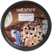 WILTSHIRE NON STICK 25cm LARGE SPRINGFORM CAKE TIN