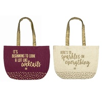 BAILEYS COTTON SHOPPING TOTE 38 x 45cm