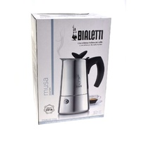 BIALETTI MUSA 10 CUP COFFEE PERCOLATOR - SUITABLE FOR INDUCTION COOKTOPS