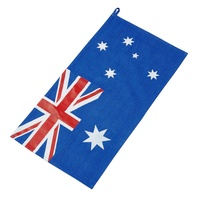 MAVERICK AUSTRALIAN FLAG DENIM TEA TOWEL