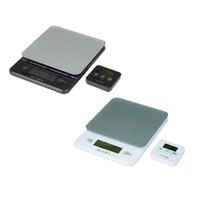 ACCURA HEBE KITCHEN SCALES AND TIMER SET
