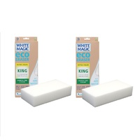 WHITE MAGIC ECO ERASER SPONGE KING - 2 PACKS
