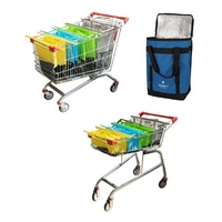 KARLSTERT SORT & CARRY TROLLEY BAGS OR COOLER BAG