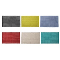 LADELLE CLASSIC COTTON KITCHEN MAT 50 x 80cm - 6 COLOURS