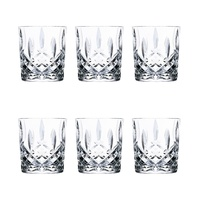 RCR OPERA OLD FASHIONED TUMBLER GLASSES 210ml - SET OF 6