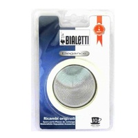 BIALETTI SILICONE RING GASKET + FILTER PLATE FOR STAINLESS STEEL COFFEE PERCOLATORS