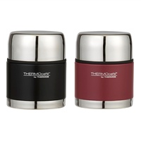 THERMOS THERMOCAFE 500ml FOOD JAR - RED OR BLACK