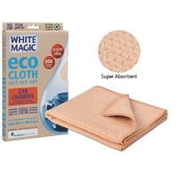WHITE MAGIC ECO CLOTH CAR CHAMOIS 60 x 40cm